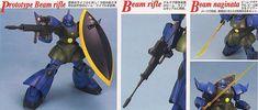 [close] MS-14A Gelgoog (Gato Custom) (MG) (Gundam Model Kits) Item picture2