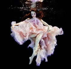 Joel Janse Van Vuuren underwater fashion shoot. dreamy. beautiful girl