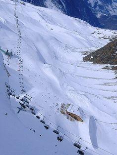 SKI Area #HOCHGURGL, Austria Travel Europe, Travel Destinations, Austria Winter, Visit Austria, Snow Activities, Germania, Snow Skiing, Central Europe, Ski And Snowboard