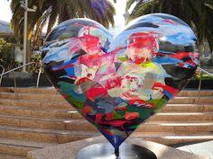 ~ San Francisco -left my heart in SF I Love Heart, Heart For Kids, My Heart, San Francisco, Today Images, Heart In Nature, Heart Images, Heart Wall, Love Symbols