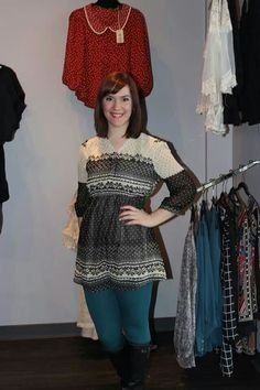 Snowflake Tunic!@Jennifer Jennings Boutique