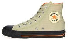Converse Chuck Taylor All-Star Hi Ripstop Mode Shoes, Men's Shoes, Shoe Boots, Converse Chuck Taylor All Star, Converse All Star, Fashion Shoes, Mens Fashion, Converse Sneakers, Sneaker Boots