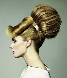 Long Blonde Hairstyle from The Bridal Collection by Sherri Jessee