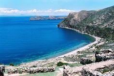 Isla del Sol -- Lake Titicaca, between Bolivia and Peru