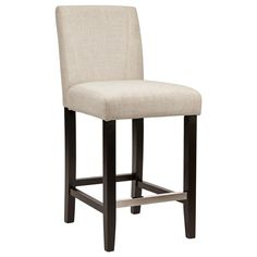 fabric counter stool with wood legsbar u0026 counter