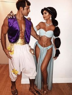 Couples Halloween Outfits, Halloween Costumes Women Creative, Cute Couple Halloween Costumes, Best Couples Costumes, Trendy Halloween, Halloween Halloween, Hot Couple Costumes, Halloween Office, Halloween Makeup