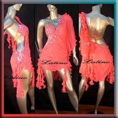 LATIN RHYTHM SALSA BALLROOM COMPETITION DANCE DRESS - SIZE S, M, L (LT148) #LatinoDancewears Salsa, Fringes, Dance Dresses, Online Price, Competition, Ebay, Fashion, Latin Dance, Moda