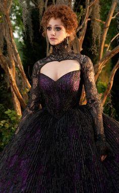 Her dress!