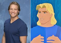 "Pin for Later: The Men of The Bachelorette (and Kaitlyn!) Weigh In on Their Disney Doppelgängers Clint Is John Smith (OUT) We'd explore that. ""That's giving him a little too much credit, but I get where you are coming from."" — Kaitlyn"