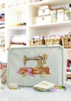 TS Vintage Sewing by Maria Diaz  Cross Stitch Collection Issue February 2015