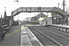 Narborough Railway Station Photo. Blaby - Croft. Leicester to Nuneaton Line. (8)