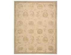 Nourison Regal Rectangular Sand Area Rug