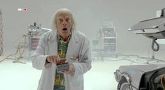 Universal Pictures has released a sneak peek of their upcoming Back to the Future short film where Doc Brown Saves the World once again. The short will be Doc Brown, Great Movies, New Movies, Eric Stoltz, Sci Fi Comedy, Plus Games, Tales From The Crypt, Bttf, Marty Mcfly