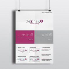 El Diseñosaurio se encargó de la realización del logo e identidad corporativa de Dezirer. #Dezirer #logo #identidadvisual #graphicdesign #visualidentity