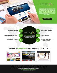 Create #BusinessWebsite - Chameleon Print Group - #Australia  http://chameleonprint.com.au/create-website/