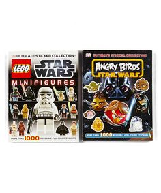 Take a look at this Star Wars MiniFigures & Angry Birds Sticker Paperback Set by Star Wars Collection on @zulily today!