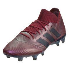 adidas Nemeziz 18.1 FG Soccer Cleats Maroon Legend Ink Collegiate  Burgandy-10.5 Soccer d72b7fba9