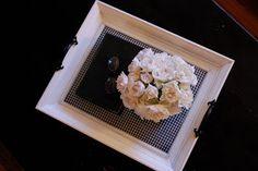 Adorable frame tray idea