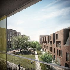 Forbes Massie / 3D Visualisation Studio / London - Work - Hawkins Brown + mae / Agar Grove