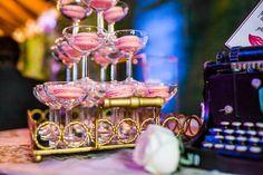 Macaron Champagne tower Nadine and Lorenzo's Enchanted Parisian Wedding Champagne Tower, Parisian Wedding, Event Styling, Enchanted, Affair, Delicate, Style, Paris Wedding