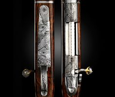 Swedish gun and rifle maker VO Vapen, founded in 1977 by master gunsmith Viggo Olsson, fashions the world's most exclusive handmade hunting rifles. Their newest creation, the VO Falcon Edition (above), is the world's most expensive priced at about 820,000.00 (no-I'm not kidding)