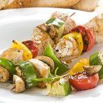 De délicieuses brochettes de poulet aux épices, un mix à réaliser pour un apéro dînatoire par exemple - Hervé cuisine.