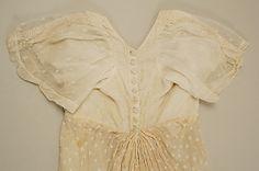 Dress - ca. 1807 - American - cotton - MET