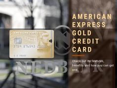 American Express Gold Credit Card is built for those who want to enjoy the basic features of a credit card at affordable rates. American Express Gold, International Flight Tickets, Bank Statement, Apply Online, South Africa, How To Apply, Learning