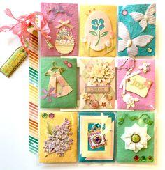 Springtime Easter Pocket Letter by Jackie Benedict