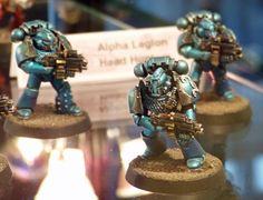 Alpha Legion Headhunters - Recalcitrant Daze: http://recalcitrantdaze.blogspot.com/2016/01/gw-40th-birthday-at-warhammer-world.html