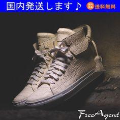 new style 841a8 d67cb Buscemi x EN NOIR 125mm クロコ White Croc☆BUSCEMI(ブシェミ)