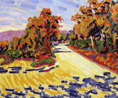 Corsican Landscape 1907 | Auguste Herbin | oil painting