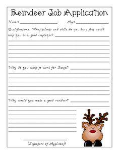 Reindeer Application .... we could do elf