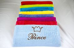 personalise your towels!