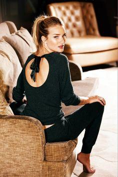 Rosie Huntington Whiteley Interview - M&S Autograph Underwear Collection (Vogue.com UK)