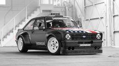Ken Block estrena coche, un Ford Escort RS Mk.II de 333 caballos - http://www.actualidadmotor.com/ken-block-ford-escort-mkii/