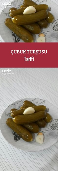 Çubuk Turşusu Tarifi Turkish Kitchen, Food Articles, Turkish Recipes, Pickles, Cucumber, Cookie Recipes, Sausage, Dinner Recipes, Food And Drink