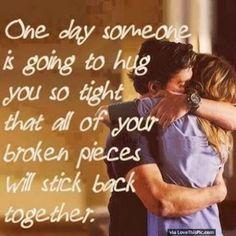 when a girl hugs you tight