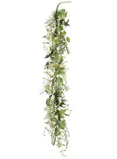 Looking for wedding greenery garlands, or alternatives to table runners? Check out this beautiful, faux mixed two tone green foliage garland. Dress up event tables, chairs, arches, or add silk flowers