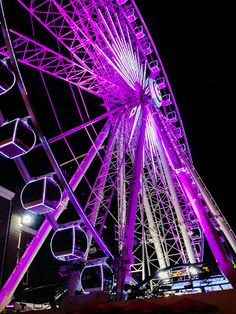 Atlanta's new Ferris wheel!