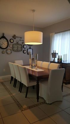 Home Decor Ideas - Dining Room Decor on a budget...
