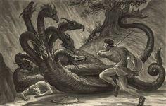 Jason and Colchis Dragon