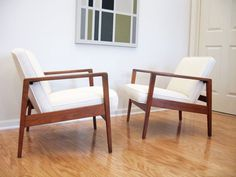 Danish Modern--This might surprise anyone who has ever been to my house, but one of my favorite styles of furniture is Danish Modern.  I love the clean lines and minimal style.