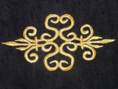 gold-metallic-embroidery-patch-lace-applique-motif-irish-dance-costume