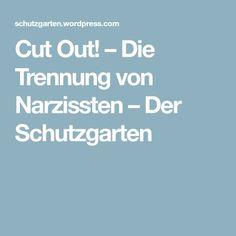 Cut Out! – Die Trennung von Narzissten – Der Schutzgarten