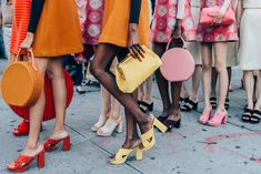 Leave it toRachel Mansur and Floriana Gavriel to debut one of the most impressive presentations during New York Fashion Week. The venue was everything we'd hope what a future Mansur Gavriel retail store would look like. Blush walls were lined with pink shelves. Shop girls and champagne cladmen