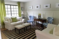 Fox Run Home - eclectic - family room - cincinnati - Karen Spiritoso Home Designs By Karen