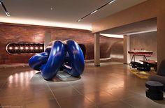 Mondrian London Hotel Lobby. Tom Dixon design #easyguide #travel #hotel #uk #london #mondrian #design #accomodation