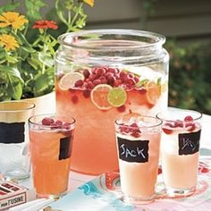 Rasberry Beer Coctails - I will be trying this in the summer! Sounds delicious and dangerous!