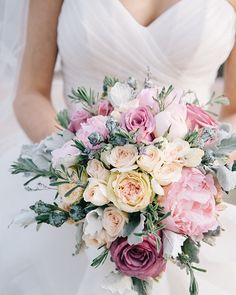 20 Mixed Pastel Wedding Bouquets | SouthBound Bride